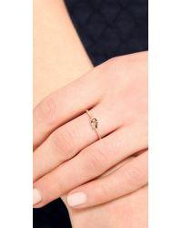 Shashi - Metallic Bella Ring - Lyst
