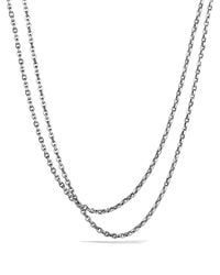 David Yurman | Metallic Oval Link Necklace, 18"