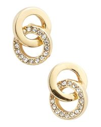 kate spade new york | Metallic 'infinity & Beyond' Stud Earrings | Lyst