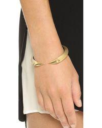 Alexis Bittar   Metallic Brake Hinge Bracelet - Gold   Lyst