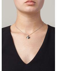 Lara Bohinc - Metallic 'eye' Necklace - Lyst