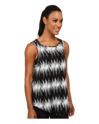 Under Armour - Black Take A Chance Printed Tank - Lyst