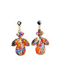 Tom Binns | Blue Midnight Riot Earrings | Lyst