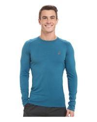 Asics - Blue Fujitrail™ Baselayer for Men - Lyst