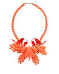 EK Thongprasert - Orange Stone Embellished Necklace - Lyst