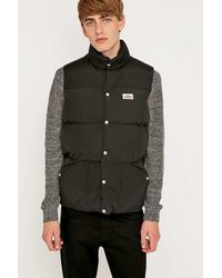 Penfield - Black Outback Vest for Men - Lyst