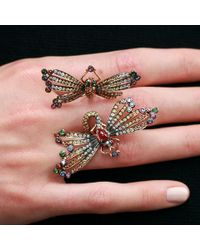 Wendy Yue - Metallic Double Dragonfly Ring - Lyst