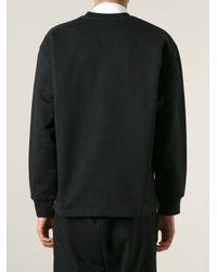 McQ - Black Doom Track Print Sweatshirt for Men - Lyst