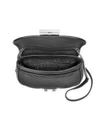 Michael Kors - Multicolor Elisa Leather Medium Crossbody Bag - Lyst