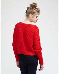 Wool And The Gang | Red Superbowl Sweater | Lyst