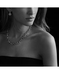 David Yurman | Metallic Oval Link Necklace | Lyst