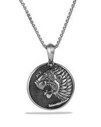 David Yurman | Metallic Petrvs Lion Amulet for Men | Lyst