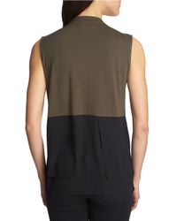 1.STATE | Green Colorblocked Modal Top | Lyst