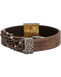 Sevan Biçakci | Brown Wrap Bracelet With Dagger Closure | Lyst