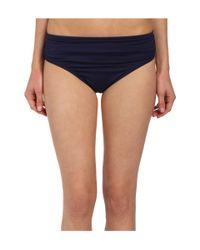 Tommy Bahama | Blue Pearl Solids High Waist Sash Pants | Lyst