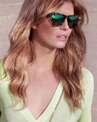 Stella McCartney - Mirrored Lense Tortoise Sunglasses: Brown - Lyst