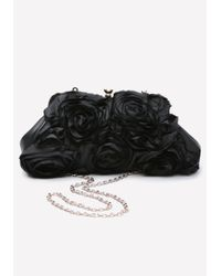 Bebe | Black Roza Clutch | Lyst