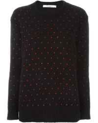Givenchy - Pink Cross Print Sweater - Lyst