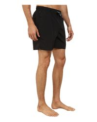 Fred Perry | Black Swimshort for Men | Lyst