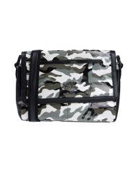 Class Roberto Cavalli - Black Cross-body Bag - Lyst