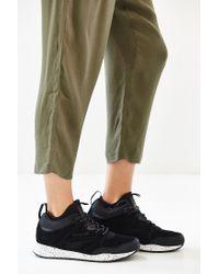 Reebok | Black Ventilator Mid Sneaker | Lyst