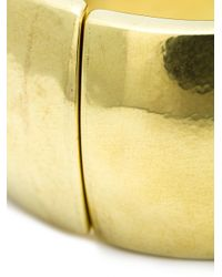 Vaubel | Metallic Wide Hinge Bangle | Lyst