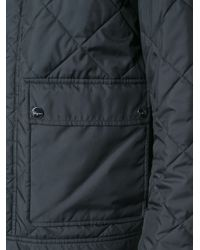 Ferragamo - Blue Quilted Jacket for Men - Lyst