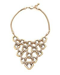 Lulu Frost | Metallic Narcissus Statement Necklace | Lyst