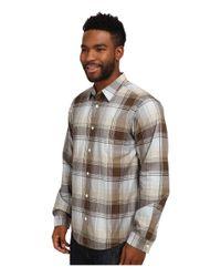 Patagonia | Gray L/s Fezzman Shirt for Men | Lyst