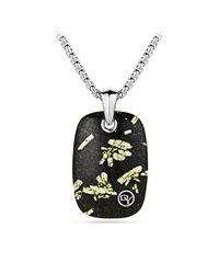 David Yurman - Multicolor Exotic Stone Tablet Necklace for Men - Lyst