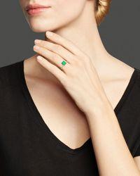 Ippolita - Metallic Rock Candy® 18k Gold Mini Single Square Stone Ring In Chrysoprase - Lyst