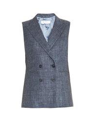 Max Mara | Blue Bratto Waistcoat | Lyst