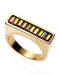 Janis By Janis Savitt | Metallic Gold-Tone Ring | Lyst