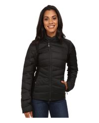 The North Face | Black Lucia Hybrid Down Jacket | Lyst