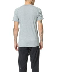 Rhone | Gray General Heathered Active Tee for Men | Lyst