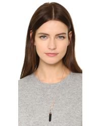 Samantha Wills - Metallic Onyx Mineral Necklace - Lyst