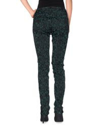 PT01 - Green Casual Trouser - Lyst