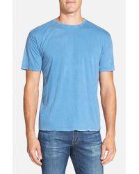Red Jacket - Blue 'Scatter' Burnout T-Shirt for Men - Lyst