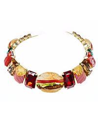 Bijoux De Famille - Multicolor Deluxe Choker Necklace - Lyst