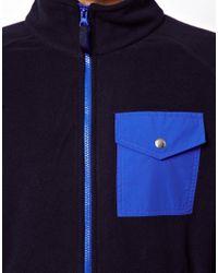 Penfield - Blue Capulin Fleece Jacket for Men - Lyst