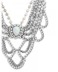 BaubleBar - Metallic Opal Elizabeth Bib - Lyst