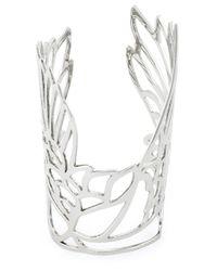 Carven - Metallic 'Bird' Cuff - Lyst