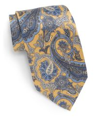 Burma Bibas | Metallic Paisley Silk Tie & Gift Box for Men | Lyst