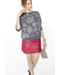 Liu Jo | Red Mini Skirt | Lyst