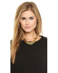 Marc By Marc Jacobs - Multicolor Mixed Up Katie Link Choker Necklace - Oro Multi - Lyst