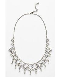 Nina - Metallic 'denisse' Bib Necklace - Lyst