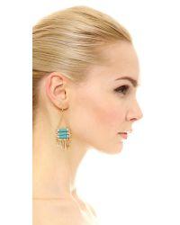 Adia Kibur - Metallic Maya Earrings - Lyst