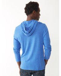 Alternative Apparel - Blue Marathon Eco-jersey Pullover Hoodie for Men - Lyst