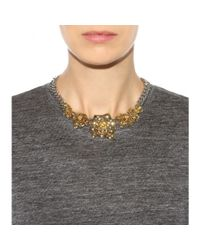 Marc By Marc Jacobs - Metallic Jerrie Rose Necklace - Lyst