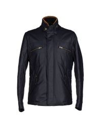 Hogan - Blue Jacket for Men - Lyst